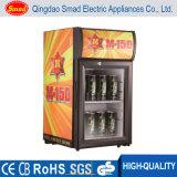 Frigorifero del frigorifero del portello di vetro del piano d'appoggio del frigorifero della bevanda mini