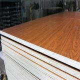 Alta calidad, base del álamo, madera contrachapada de la melamina de ambas caras/madera contrachapada comercial