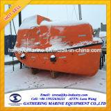 Tipo a pouca distância do mar barco salva-vidas totalmente incluido da plataforma para a venda