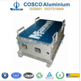 Extrusão de alumínio do competidor do perfil do OEM para Amplifer com fazer à máquina do CNC