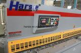Máquina de corte da folha de metal da guilhotina do tipo QC11y de Harsle