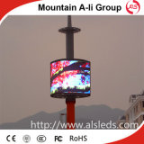 P10 Full Color Video Outdoor RoundかCylindrical LED Display
