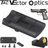 선그림 광학 가득 차있는 금속 전술상 권총 Beretta 92 전자총 Accessries를 위한 빨간 점 범위 마운트 기초