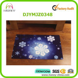 Color cheio Printed Foot Mat Foldable e Durable