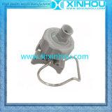 Extremidad de inyector plástica del soporte de abrazadera de pipa