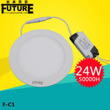 Luz del panel redonda ultra delgada china de la fábrica SMD2835 15W LED