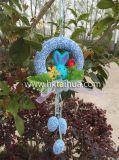 Ao ar livre ovos de Easter plásticos impressos mini decoração do logotipo