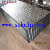 Panneau ondulé en acier galvanisé de toit