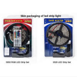 LED, das 5050 LED-Licht-Streifen, imprägniern 60 LED pro Messinstrument RGB-Streifen LED