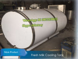 2000L к (эллиптический бак охлаждать молока) горизонтальному баку охлаждать молока 5000L