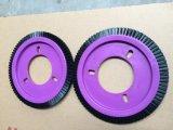 0.4mmのLk Stenterの機械装置(YY-630)のための黒いナイロン車輪のブラシ
