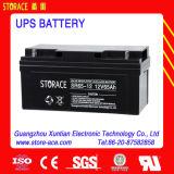 Bateria Sr65-12 do UPS, bateria acidificada ao chumbo 12V 65ah