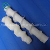 Vis blanche en plastique industrielle de cisaillement de Delrin de vis