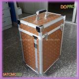 引出し(SATCMC023)との大きいアルミニウム化粧箱の金カラー圧延の構成のケース