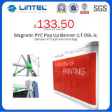 Bewegliches Aluminum Banner Stand Magnetic Pop oben (LT-09L-A)