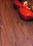 Geprägter Ahornholz-schalldämpfender lamellenförmig angeordneter Fußboden der Werbungs-12.3mm E0