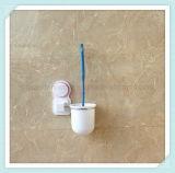 Щетка и держатель чистки туалета всасывания для вспомогательного оборудования ванной комнаты