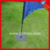 bandierina della piuma di volo della spiaggia personalizzata 3m/4m/5m con Palo e la base