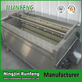 Ligne de lavage machine de pomme de terre de constructeur d'écaillement de raccord en caoutchouc de pomme de terre