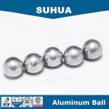 una sfera di alluminio da 1mm - 60 millimetri nei sacchetti di aria