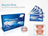 Dentes da água oxigenada de 6% que Whitening os dentes do gel que Whitening tiras