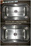 台所の流し、流し、ハンドメイドの流し、ステンレス鋼の単一の流し3118 (8047)、Undermount Cupcの台所の流し