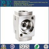 Base de tube de fonte d'aluminium de haute précision