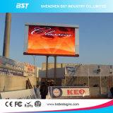 Im Freienbildschirmanzeige-Video-Wand LED-P6