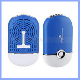 400mAh Mini Portable는 Desk Air Conditioner Humidification Cooling Fan를 손 붙들었다