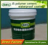 Js 중합체 시멘트 방수 코팅 (20kg/barrel)를 가진 직접 공장