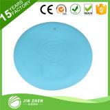 Валик баланса массажа PVC Китая голубой трезвый раздувной