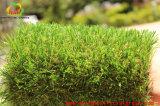 庭のための人工的な草のカーペットを美化する古典的な4つのカラー