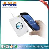 13.56MHz leitor portátil do USB RFID para o cartão do CI