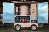 Épurateur de pétrole de transformateur de vide de marque de Yuneng avec la remorque