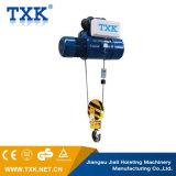 Grue électrique de câble métallique de 2 tonnes