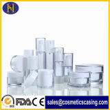 15ml 30ml 50ml Plastik füllt kosmetische verpackenTransparents luftlose Flaschen-Duftstoff-Flasche ab