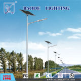 Допустимый DC 8m Поляк 60W Solar Street Light CE 5m 6m 20W 30W СИД Solar Street Light 3-5 Years Warranty