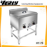 商業Standing Double 25L Gas Deep Tank Fryer (HY-75)