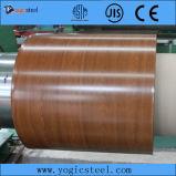 Bobina de aço galvanizada de madeira Pre-Painted (0.18-2.00/914-1250) PPGI