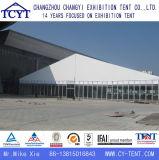 Grande barraca ao ar livre do partido da celebração da exposição da parede de vidro