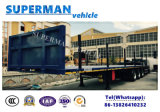 Het registreren Semi Aanhangwagen voor Vervoer van Logboek/Houten Hout