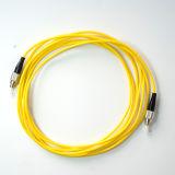 Cuerda de corrección óptica a una cara de fibra de la chaqueta de PVC de FC-FC SM
