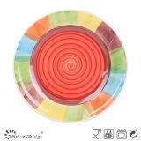 多彩な陶磁器の新しいデザイン食事用食器セット