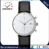 Relógio de quartzo do aço inoxidável dos relógios do homem da forma (DC-365)