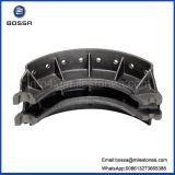 Vorgalvanisierte Sand-Gussteil-Bremsbacke verwendet auf HOWO LKW