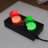 Lumière laminée à froid verte rouge personnalisée de feux de signalisation de plaque de 100mm