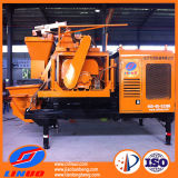 Diesel GeneratorのV8のトラックMounted Forced Concrete Mixer Pump