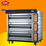 Qualität 3-Deck 12-Tray Luxurious Electric Oven/Bread Plattform Oven