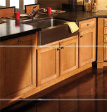 Modulares Modern Kitchen Furniture mit Wine Colored Kitchen Cabinet