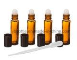 5ml 10ml 30ml Roll-onnachfüllbarer Glasduftstoff-Flaschen-Fonds, Glasflaschen